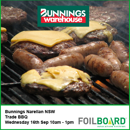 Bunnings Narellan Warehouse NSW Trade BBQ – Wednesday 16th September