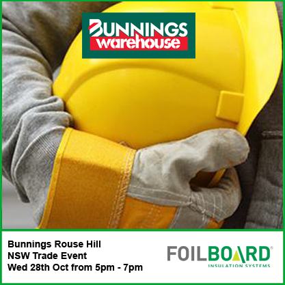 Bunnings Rouse Hill Warehouse NSW Trade BBQ – Wednesday 28th October