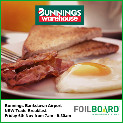 Bunnings Bankstown Airport Warehouse NSW Trade BBQ – Friday 6th November