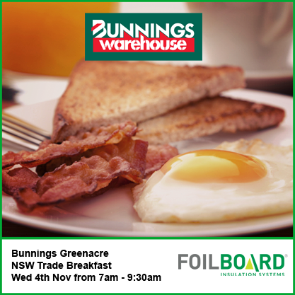 Bunnings Greenacre Warehouse NSW Trade BBQ – Wednesdays 4th November