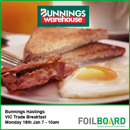 Bunnings Hastings Warehouse VIC Trade BBQ – Monday 18th January