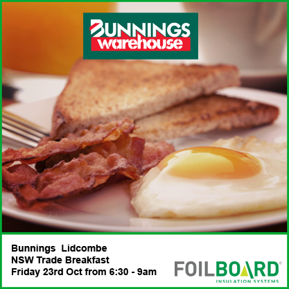 Bunnings Lidcombe Warehouse NSW Trade BBQ – Friday 23rd October