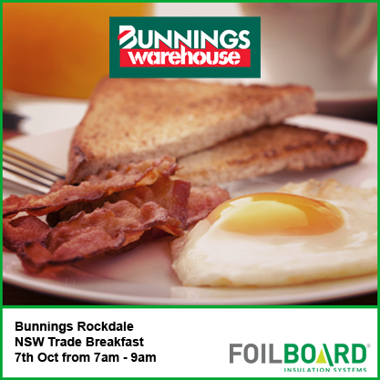 Bunnings Rockdale Warehouse NSW Trade BBQ – Wednesday 7th October