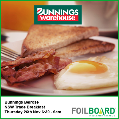 Bunnings Belrose Warehouse NSW Trade BBQ – Thursday 26th November