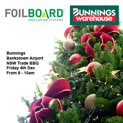 Bunnings Bankstown Airport Warehouse NSW Trade BBQ – Friday 4th December