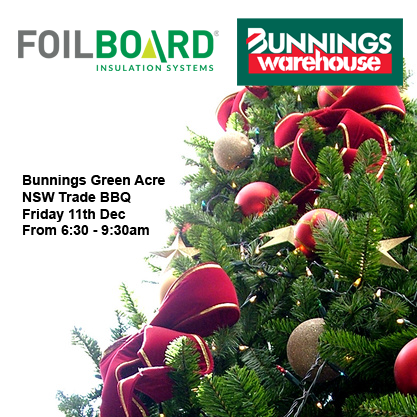 Bunnings Greenacre Warehouse NSW Trade BBQ – Wednesday 11th December
