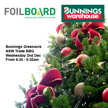 Bunnings Greenacre Warehouse NSW Trade BBQ – Wednesday 2nd December