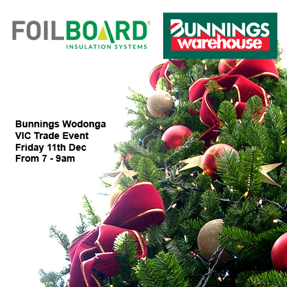 Bunnings Wodonga Warehouse VIC Christmas Trade Event -Friday 11th December