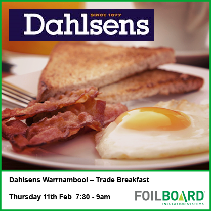 Dahlsens Warrnambool VIC Trade BBQ – Thursday 11th February