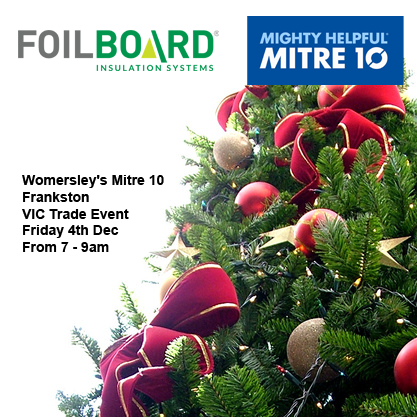 Womersley's Mitre 10 Frankston Vic Trade Event – Friday 4th December