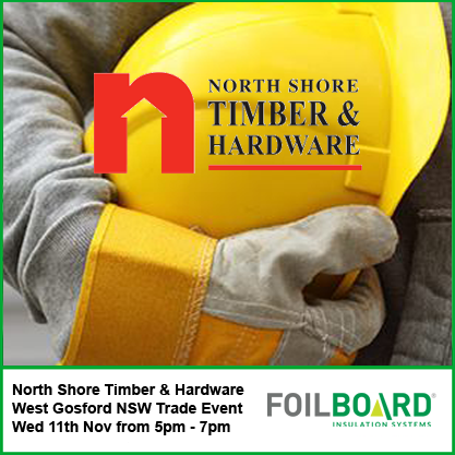 North Shore Timber & Hardware West Gosford – Trade Night Wednesday 11th November
