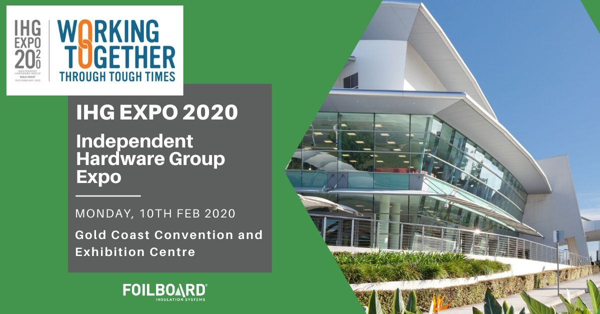 IHG EXPO 2020 – Foilboard At Independent Hardware Group Expo